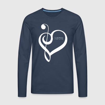 Music is life ! - Men's Premium Longsleeve Shirt