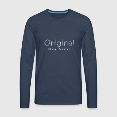 Original - Men's Premium Longsleeve Shirt