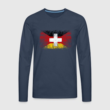 Germany Switzerland 001 - Men's Premium Longsleeve Shirt
