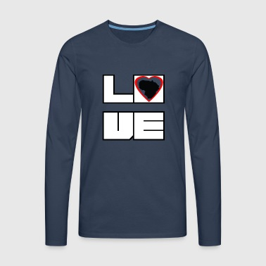 Love Land Roots Lithuania Lithuania - Men's Premium Longsleeve Shirt