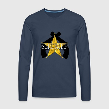 Sheriff Guns logo - Men's Premium Longsleeve Shirt