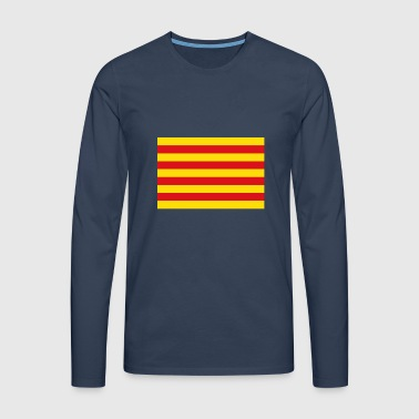 Catalan flag - Men's Premium Longsleeve Shirt