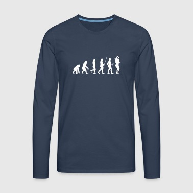 Evolution to the Dancer T-Shirt Gift - Men's Premium Longsleeve Shirt