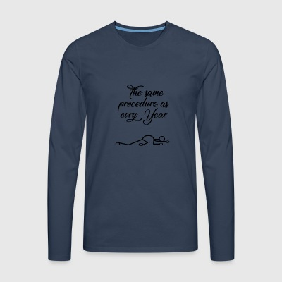New Year's Eve - Men's Premium Longsleeve Shirt