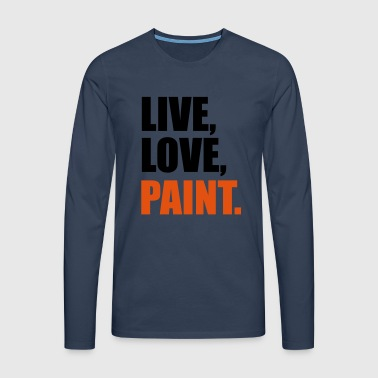 2541614 14447162 paint - Men's Premium Longsleeve Shirt