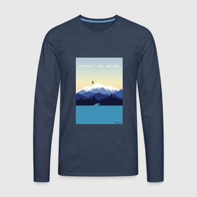 Protect Nature - Men's Premium Longsleeve Shirt