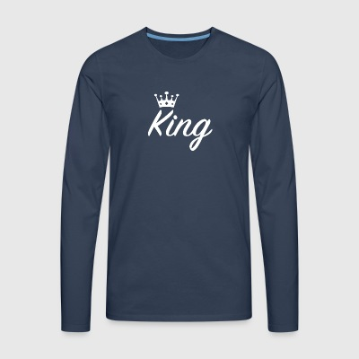 king - Men's Premium Longsleeve Shirt