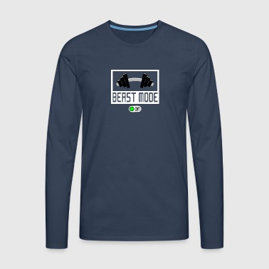 BEAST MODE ON - Men's Premium Longsleeve Shirt