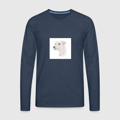 Jack Russell, Whistle - Men's Premium Longsleeve Shirt