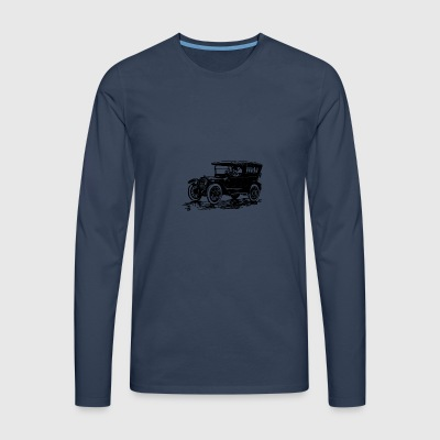 Old Car - Men's Premium Longsleeve Shirt
