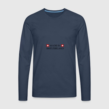 Made_in_Switzerland - Men's Premium Longsleeve Shirt