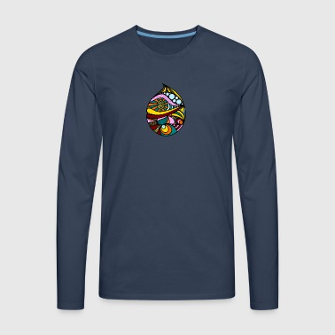 Colorful drop - Men's Premium Longsleeve Shirt