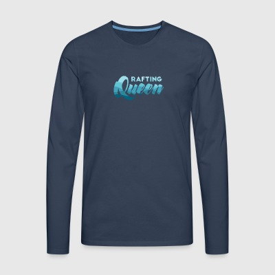 Rafting, whitewater, canoeing, kayaking, water sports - Men's Premium Longsleeve Shirt