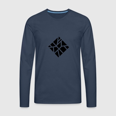 Geometric square - Men's Premium Longsleeve Shirt