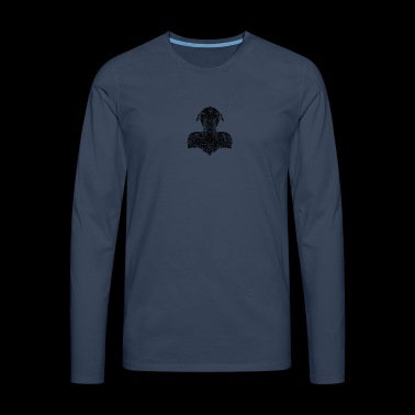Vikings shadow - Men's Premium Longsleeve Shirt