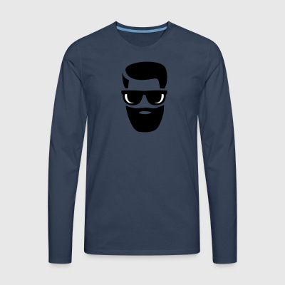 beard - Men's Premium Longsleeve Shirt