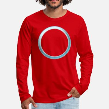 Circle / chrome - Men's Premium Longsleeve Shirt