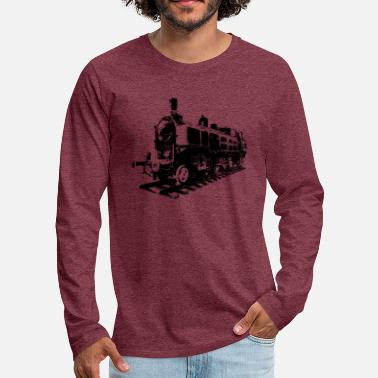 steam train - Men's Premium Longsleeve Shirt
