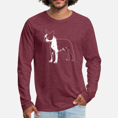 boston terrier - Men's Premium Longsleeve Shirt