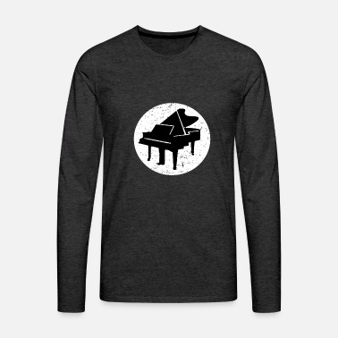 Piano Piano Piano Piano ailes - T-shirt manches longues Premium Homme