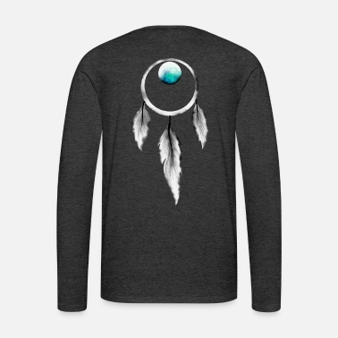 Moon A Moonlit Dream Catcher - Men's Premium Longsleeve Shirt