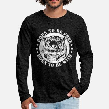 Date Of Birth Birth dates and to be wild! - Men's Premium Longsleeve Shirt