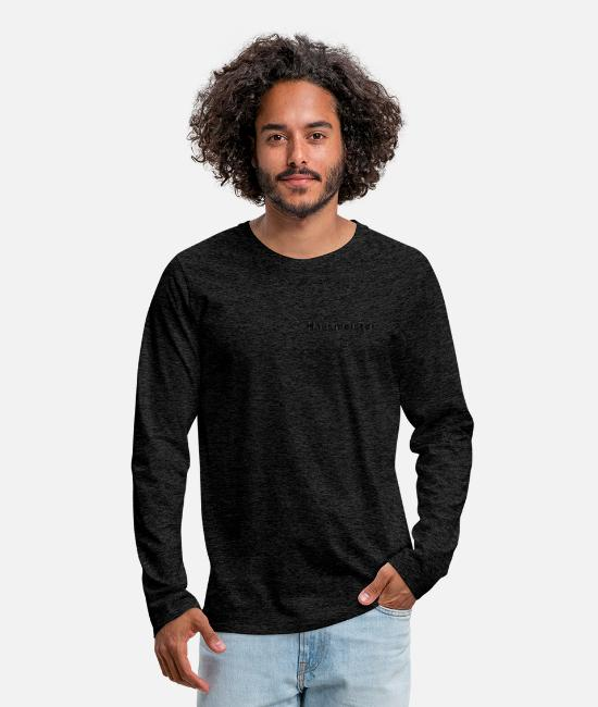 Building Long-Sleeved Shirts - caretaker - Men's Premium Longsleeve Shirt charcoal grey