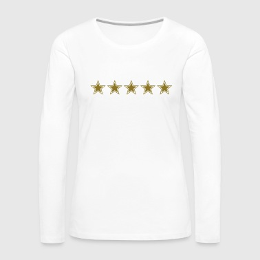5 Star Chef Five Winner Birth King Daddy Team Mom - T-shirt manches longues Premium Femme
