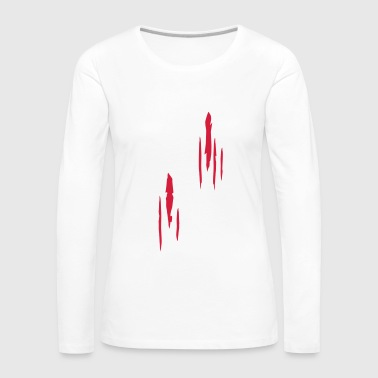 Scratches - Women's Premium Longsleeve Shirt
