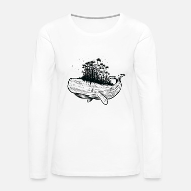 Save Save the whales - Women's Premium Longsleeve Shirt