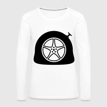 suchbegriff 39 autoreifen 39 langarmshirts online bestellen spreadshirt. Black Bedroom Furniture Sets. Home Design Ideas