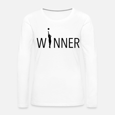 Basketball Cool design for basketballer basketball gift - Women's Premium Longsleeve Shirt