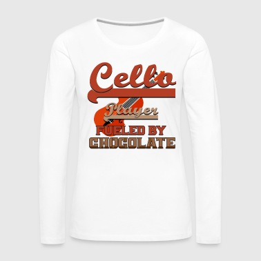 Jazz Cellist Cello Double Bass Double Bassist Gift - Women's Premium Longsleeve Shirt