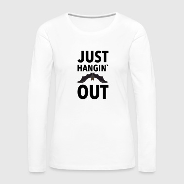 Werwolf Just Hangin Out - Frauen Premium Langarmshirt