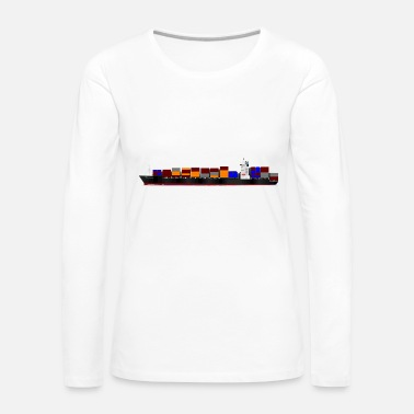 Container Container Ship - Women's Premium Longsleeve Shirt