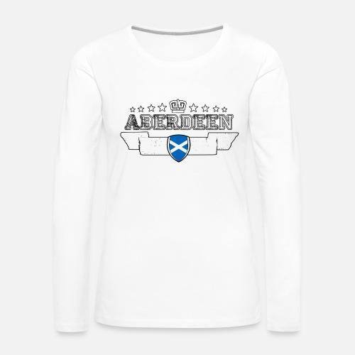078e27d69ba6 Aberdeen T-shirt manches longues premium Femme   Spreadshirt