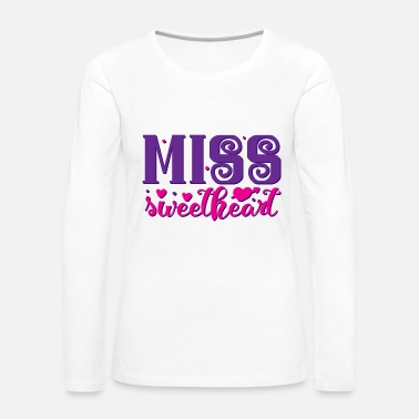 Lilac Miss Sweetheart Color - Women's Premium Longsleeve Shirt