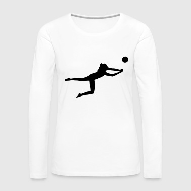 Volleyball Beachvolleyball - Volleyball - Women's Premium Longsleeve Shirt