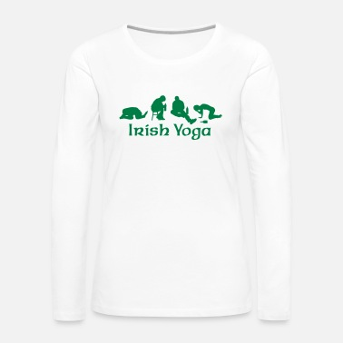 Yoga Irish Yoga - Frauen Premium Langarmshirt