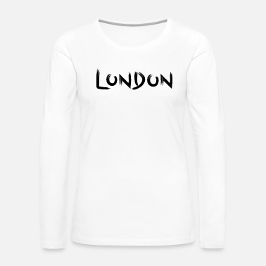 London London - Women's Premium Longsleeve Shirt