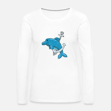 Save Save the whales sushi whale-catching dolphin - Women's Premium Longsleeve Shirt