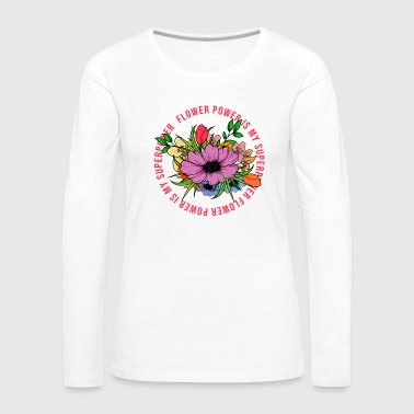 FLOWER POWER bouquet pretty gift idea - Women's Premium Longsleeve Shirt
