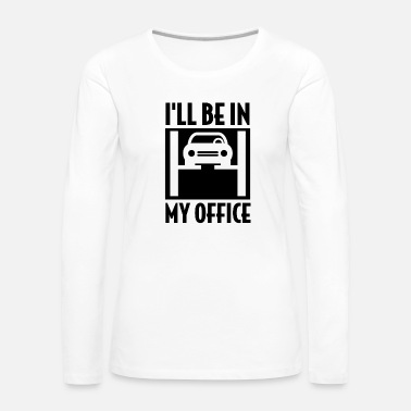 Auto Repair Mechanic auto repair shop - Women's Premium Longsleeve Shirt