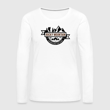 ROCKY MOUNTAIN - Women's Premium Longsleeve Shirt