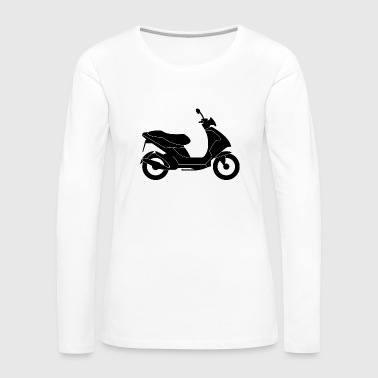 Scooters / Scooter - Women's Premium Longsleeve Shirt