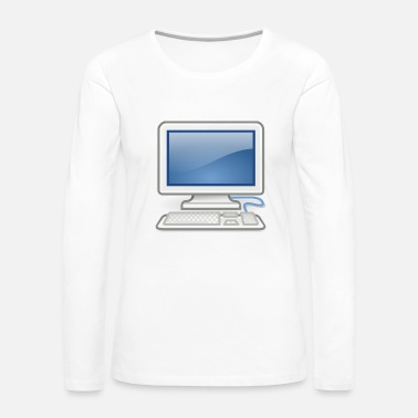 Pc great for PC nerds or PC in love - Women's Premium Longsleeve Shirt