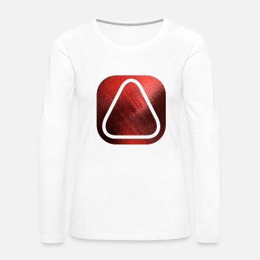 Initial SQUARES VIERECKE RED 20 - Women's Premium Longsleeve Shirt