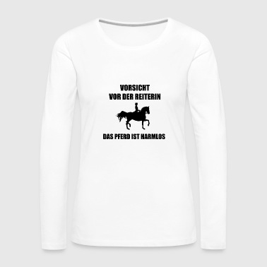 Welsh Horse gift riding Shetland Pony Welsh Haflinger - Women's Premium Longsleeve Shirt