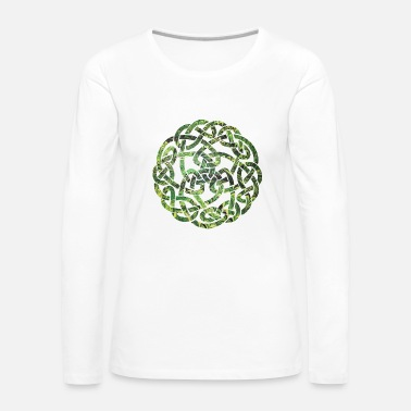 Occult Celtic knot 5 e 35 - Women's Premium Longsleeve Shirt