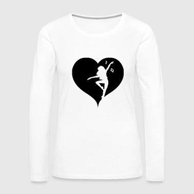 Dancing music - Women's Premium Longsleeve Shirt
